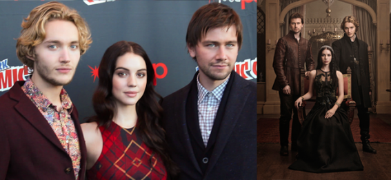 Toby Regbo, Adelaide Kane and Torrance Coombs (Image Credit: Sean Torrenli / The Daily Quirk) REIGN Promo (Image Credit: The CW)