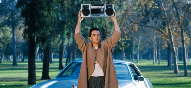 John Cusack in SAY ANYTHING (Image Credit: 20th Century Fox)