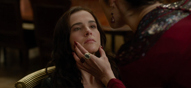Zoey Deutch as Rose Hathaway in VAMPIRE ACADEMY: BLOOD SISTERS (Image Credit: The Weinstein Company)