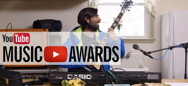 Jason Schwartzman for the YouTube Music Awards (Image Credit: YouTube)