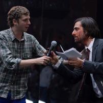 NEW YORK, NY - NOVEMBER 03: Michael Cera (L) and Jason Schwartzman speak onstage at the YouTube Music Awards 2013 on November 3, 2013 in New York City. (Photo by Jeff Kravitz/FilmMagic for YouTube)