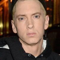 NEW YORK, NY - NOVEMBER 03: Rapper Eminem poses backstage at the YouTube Music Awards 2013 on November 3, 2013 in New York City. (Photo by Jeff Kravitz/FilmMagic for YouTube)