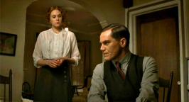 Christiane Seidel as Sigrid and Michael Shannon as Van Alden in BOARDWALK EMPIRE (Image Credit: HBO)