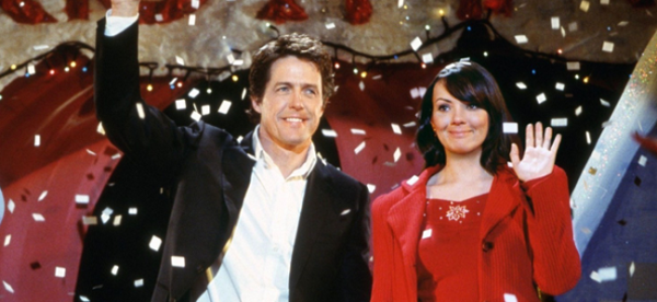 Hugh Grant and Martine McCutcheon in LOVE ACTUALLY (Image Credit: Universal Pictures)