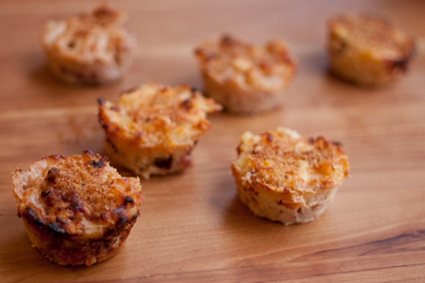 Goats Cheese and Cranberry Mac and Cheese Cups Recipe (Image Credit: Jenny @ Bake)