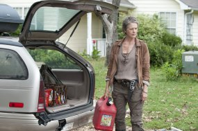 Melissa Suzanne McBride as Carol in THE WALKING DEAD (Image Credit: Gene Page/AMC)