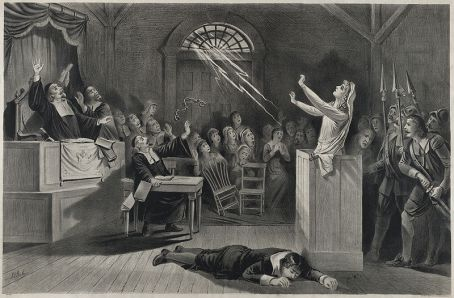 """""""The witch no. 1"""" lithograph (Image Credit: Joseph E Baker / United States Library of Congress)"""