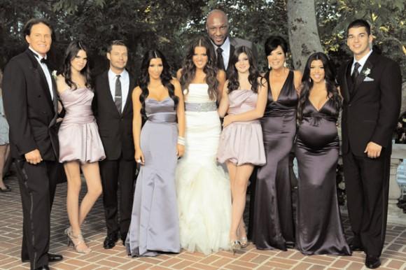 Kardashian Family Holiday Card 2009 (Image Credit: The Kardashians)