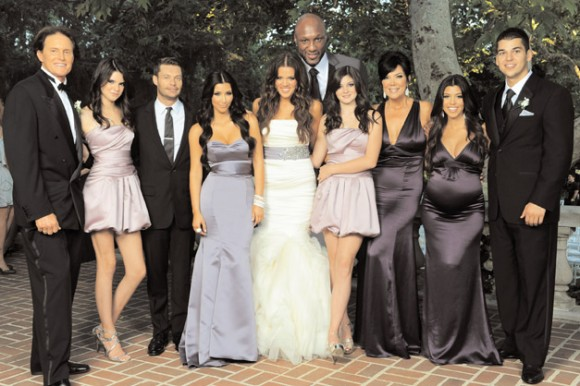 Kardashian Family Holiday Card 2009 (Image Credit: The Kardashians)