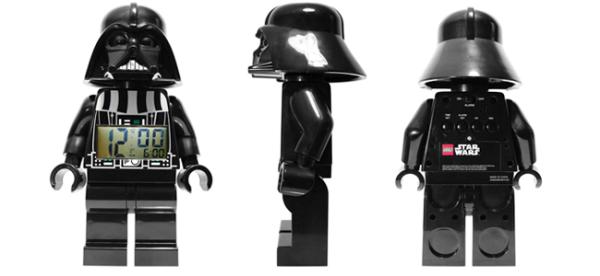 LEGO® Star Wars™ Darth Vader Minifigure Clock (Image Credit: LEGO)