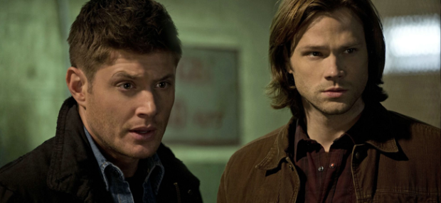 Jensen Ackles as Dean Winchester and Jared Padalecki as Sam Winchester in SUPERNATURAL (Image Credit: The CW Network)