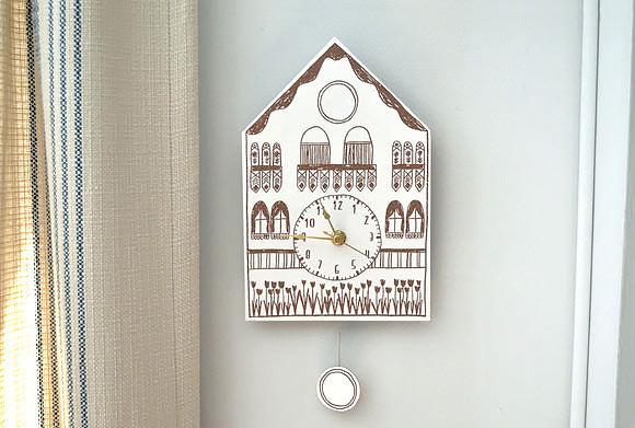 DIY Printable Cuckoo Clock (Image Credit: Handmade Charlotte)