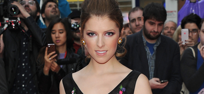 Anna Kendrick attends a screening of DRINKING BUDDIES (Image Credit: Stuart C. Wilson/Getty Images for BFI)