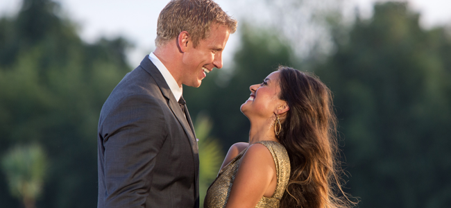 Sean Lowe and Catherine in THE BACHELOR (Image Credit: ABC/Dave Hagerman)
