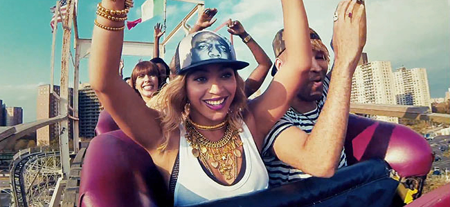 """XO"" Music Video by Beyoncé (Image Credit: Columbia Records)"