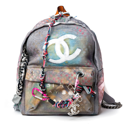 Chanel Bricolage Canvas Backpack (Image Credit: Instagram/Mysterious_Mary)
