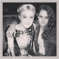 Dakota Snow and Kristen Stewart (Image credit: Instagram/Dakota Fanning @fanningdakota)