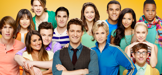 Season Five Cast of GLEE (Image Credit: FOX)