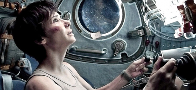 Sandra Bullock in GRAVITY (Image Credit: Warner Bros.)