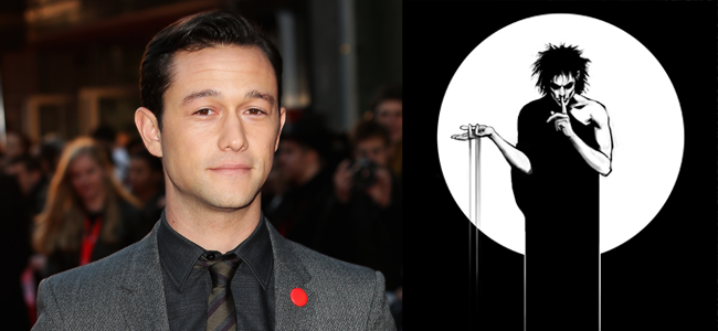 Joseph Gordon-Levitt (Image Credit: Tim P. Whitby/Getty Images) / The Sandman (Image Credit: Vertigo)