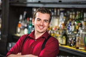 Kris Doyle, bartender at Trattoria Neapolis (Image Credit: Trattoria Neapolis)