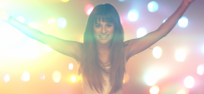 """""""Cannonball"""" Music Video by Lea Michele (Image Credit: Columbia Records)"""