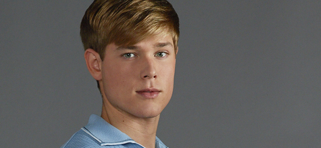 Mason Dye as Christopher Dollanganger for FLOWERS IN THE ATTIC (Image Credit: Richard McLaren/Lifetime)