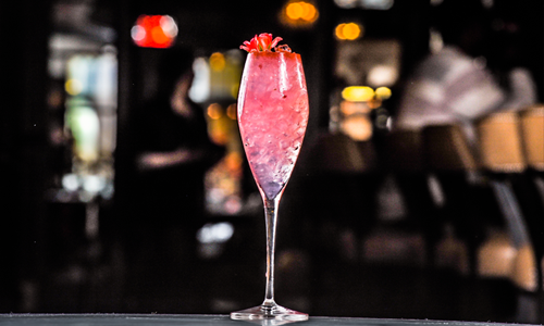 Roman Love Letter Cocktail by Kris Doyle of Trattoria Neapolis (Image Credit: Trattoria Neapolis)