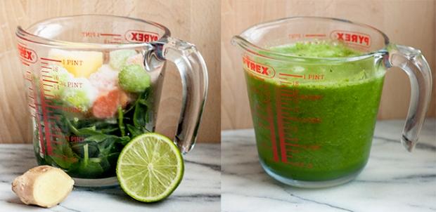 Green Detox Smoothie (Image Credit: Jenny @ Bake)