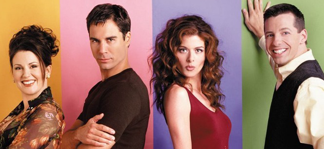 Megan Mullally, Eric McCormack, Debra Messing and Sean Hayes for WILL & GRACE (Image Credit: NBC Universal)
