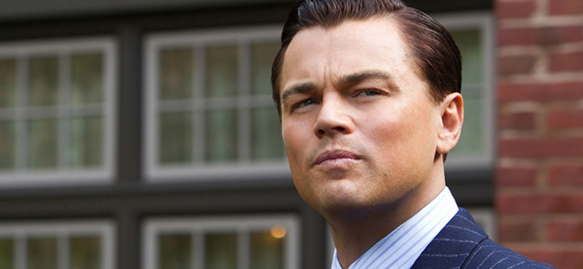 Leonardo DiCaprio in WOLF OF WALL STREET (Image Credit: Mary Cybulski/Paramount Pictures)