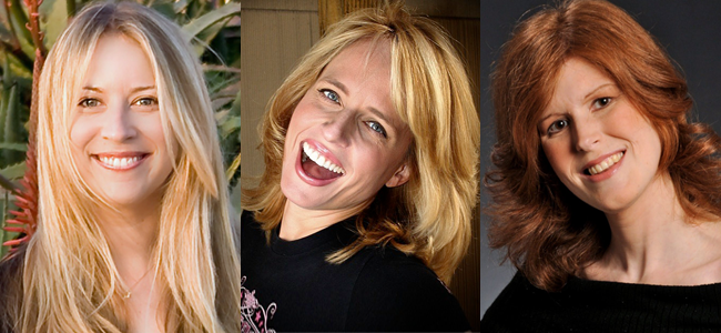 Authors Robin Benway, Daisy Whitney and Joelle Charbonneau (Image Credit: Kepler's Books)