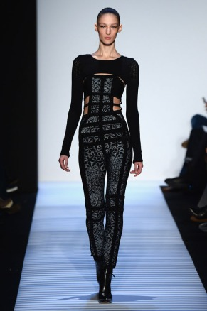Herve Leger By Max Azria (Image Credit: Frazer Harrison/Getty Images for Mercedes-Benz Fashion Week)