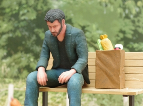 Sad Keanu (Image Credit: Shapeways)