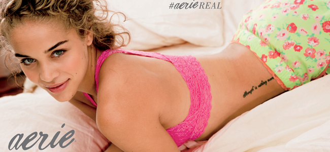 Aerie Real Campaign (Image Credit: American Eagle)
