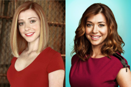 Alyson Hannigan in BUFFY THE VAMPIRE SLAYER (Image Credit: Warner Bros.) / Alyson Hannigan in HOW I MET YOUR MOTHER (Image Credit: CBS)