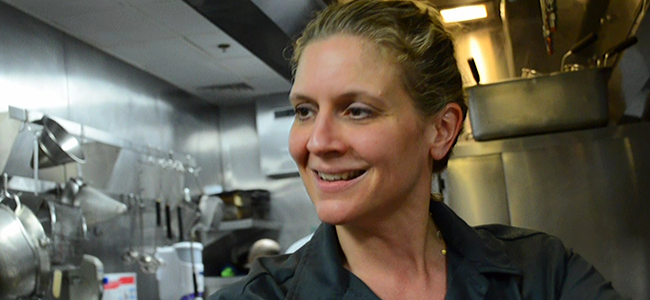 Chef Amanda Freitag (Image Credit: Victor Mascitelli/The Daily Quirk)
