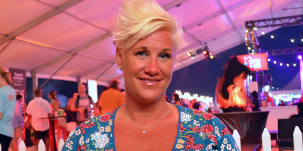 Chef Anne Burrell (Image Credit: Victor Mascitelli/The Daily Quirk)