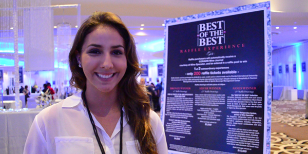 Kelsey Cortez at Wine Spectator's Best of Best Event (Image Credit: Victor Mascitelli/The Daily Quirk)