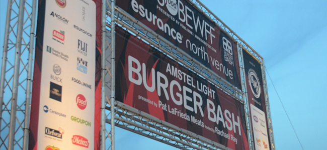 Burger Bash at SOBEWFF (Image Credit: Victor Mascitelli/The Daily Quirk)