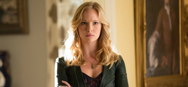 Candice Accola as Caroline Forbes in THE VAMPIRE DIARIES (Image Credit: The CW)