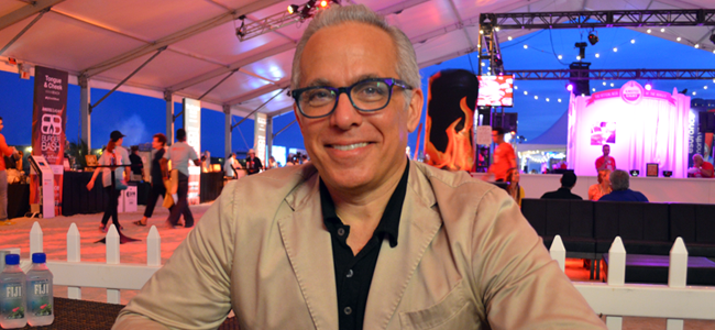Chef Geoffrey Zakarian (Image Credit: Victor Mascitelli/The Daily Quirk)