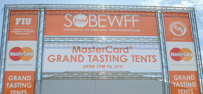 Grand Tasting Village at Food Network's South Beach Food and Wine Festival (Image Credit: Billy Farrell Agency/SOBEWFF)
