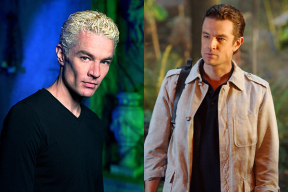 James Marsters in BUFFY THE VAMPIRE SLAYER (Image Credit: Warner Bros.) / James Marsters in HAWAII FIVE-0 (Image Credit: CBS)
