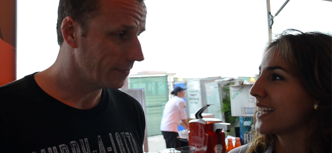 Chef Marc Murphy (Image Credit: Victor Mascitelli/The Daily Quirk)