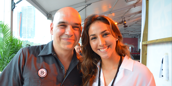 Chef Michael Symon (Image Credit: Victor Mascitelli/The Daily Quirk)