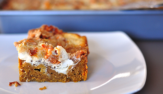 Pumpkin Cream Cheese Cake (Image Credit: Life Made Sweet)