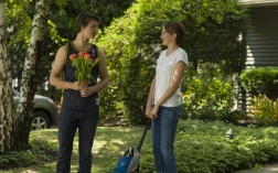 Ansel Elgort as Gus and Shailene Woodley as Hazel in THE FAULT IN OUR STARS (Image Credit: James Bridges/20th Century Fox Film)