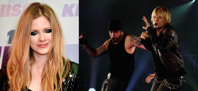 Avril Lavigne (Image Credit: © Glenn Francis, www.PacificProDigital.com) / Backstreet Boys (Image Credit: Laura Gregg)