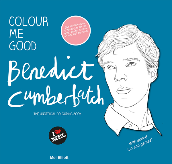 COLOUR ME GOOD BENEDICT CUMBERBATCH (Image Credit: Mel Elliot)